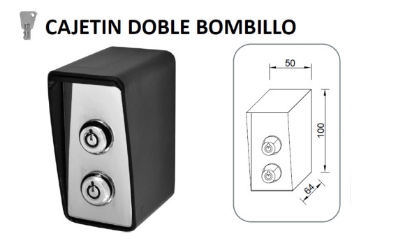 CAJETIN-DOBLE-BOMBILLO